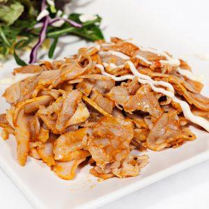Kebab asado