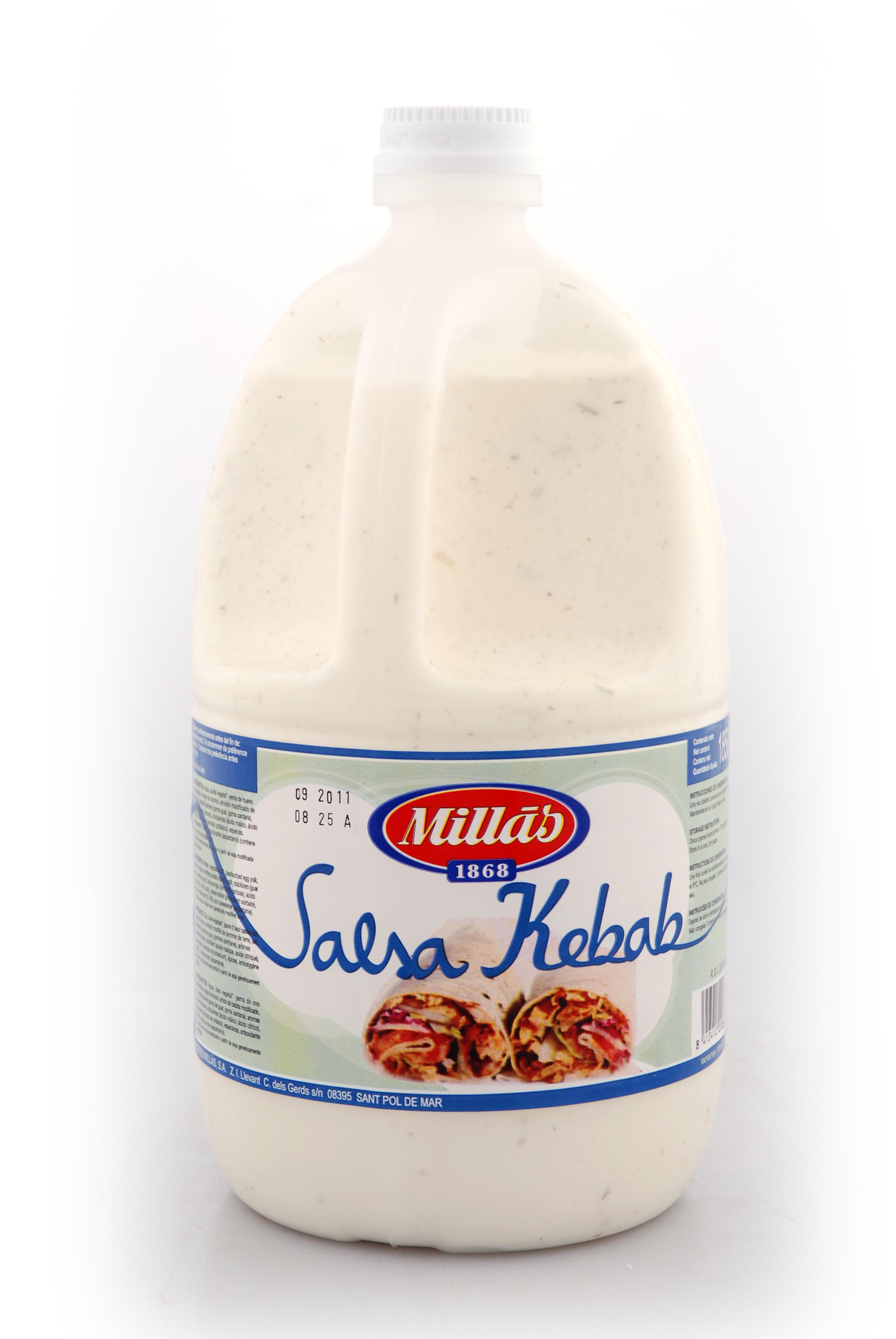 Salsas Kebab