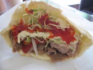 salsa roja kebab