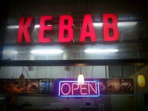 montar un kebab